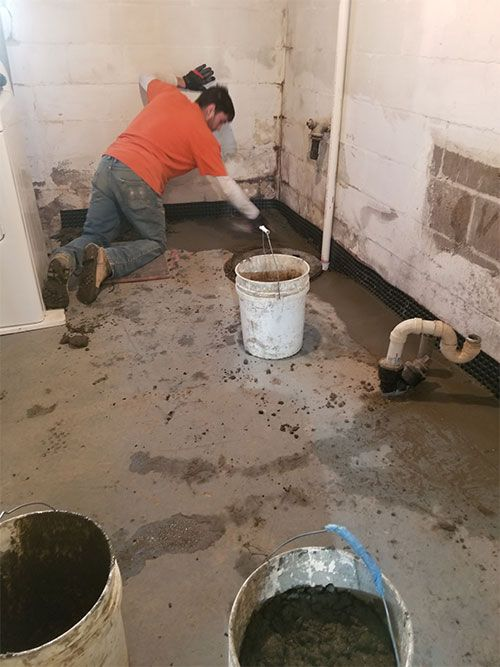 waterproofing contractors Erie